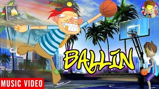 Ballin' 🎵 Raptain Hook (Hip Hop Animation of The Adventures of FUNnel Boy)