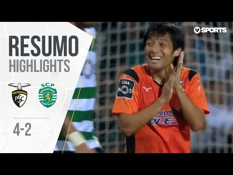 Highlights | Resumo: Portimonense 4-2 Sporting (Liga 18/19 #7)