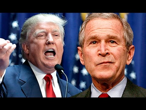 Poll: Who's Dumber, Bush Or Trump?