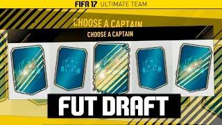 FIFA 17 LIVE - FUT DRAFT!!!