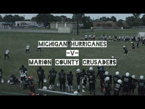 Michigan Hurricanes V Marion County Crusaders 8/5/17