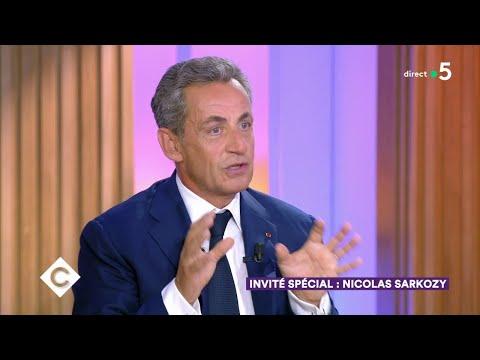 Nicolas Sarkozy : invité spécial ! - C à Vous - 04/09/2019