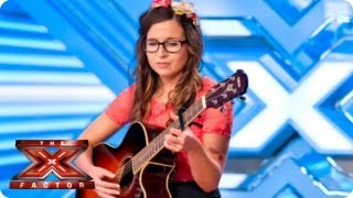 Abi Alton sings Travelling Soldier by Dixie Chicks -- Room Auditions Week 2 -- The X Factor 2013