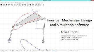Four Bar Mechanism Design And Simulation Software