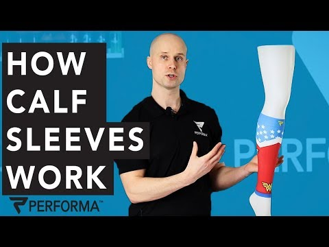 How Compression Socks and Calf Sleeves Work