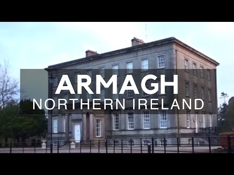 Armagh, Northern Ireland - A Civil Parish - The County Town of County Armagh in Northern Ireland