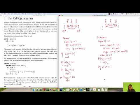 Tail Recursion Mini Lecture