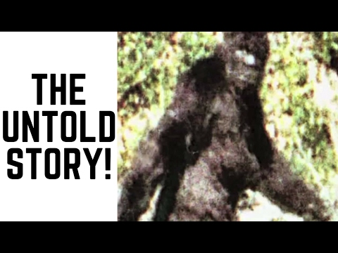 The Untold Story Of The Patterson/Gimlin Bigfoot Film!