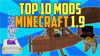 TOP 10 MODS PARA MINECRAFT 1.9: Los Mejores Mods