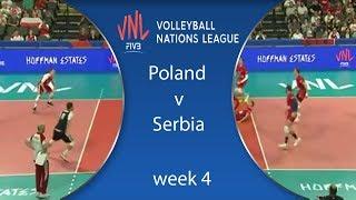 ملخص | بولندا وصربيا | Poland v Serbia | Highlights | Week 4 | VolleyBall Nations League 2018