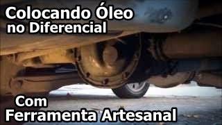 Ferramenta Artesanal p/ Colocar Óleo no Diferencial - CURIOSIDADE