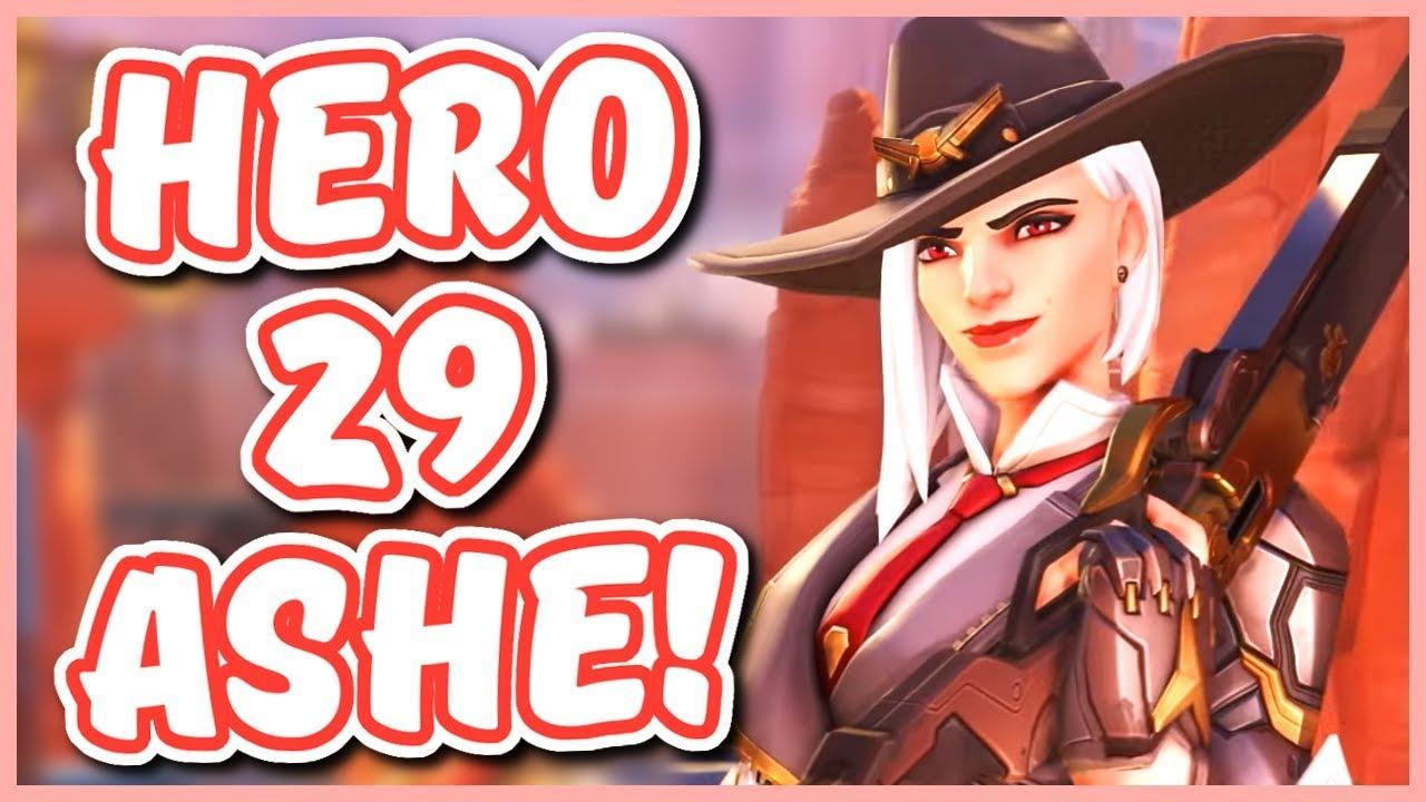 ashe overwatch hero