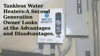 tankless hot water heaters an owners perspective