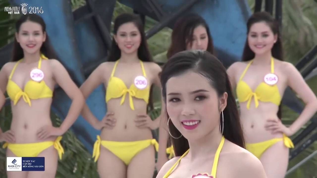 Người Đẹp Biển Phần Thi Áo Tắm, Bikini [Hoa hậu Việt Nam 2016]