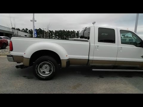 2011 Ford F-350SD Wilson, Rocky Mount, Goldsboro, Tarboro, Greenville, NC T82808B