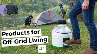 6 Great OFF-GRID LIνING Inventions & Products #1