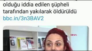 Istanbul Maltepe De Görev Yapan öğretim Görevlisi Aylin Sözer Yakılarak öldürüldü😭😭