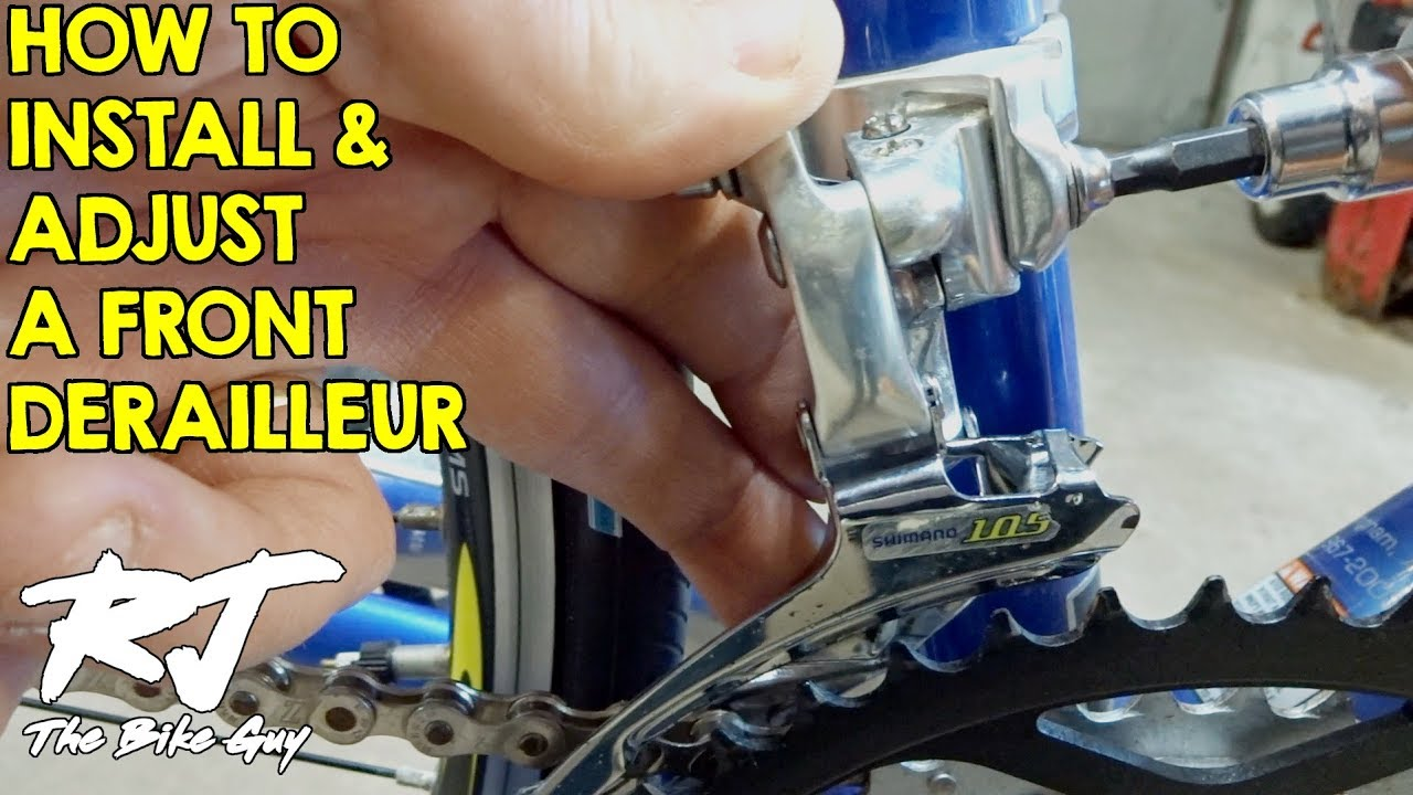BICYCLE FRONT DERAILLEUR VARIOUS MAKE AND SIZE