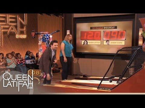 Actor Jeremy Sisto Plays Skeeball on The Queen Latifah