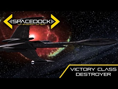 Babylon 5: ISA Victory Class Destroyer - Spacedock
