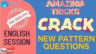 SBI PO 2017-Amazing Tricks To Crack New Pattern Questions- Eng-Online Coaching for SBI,IBPS,Bank PO