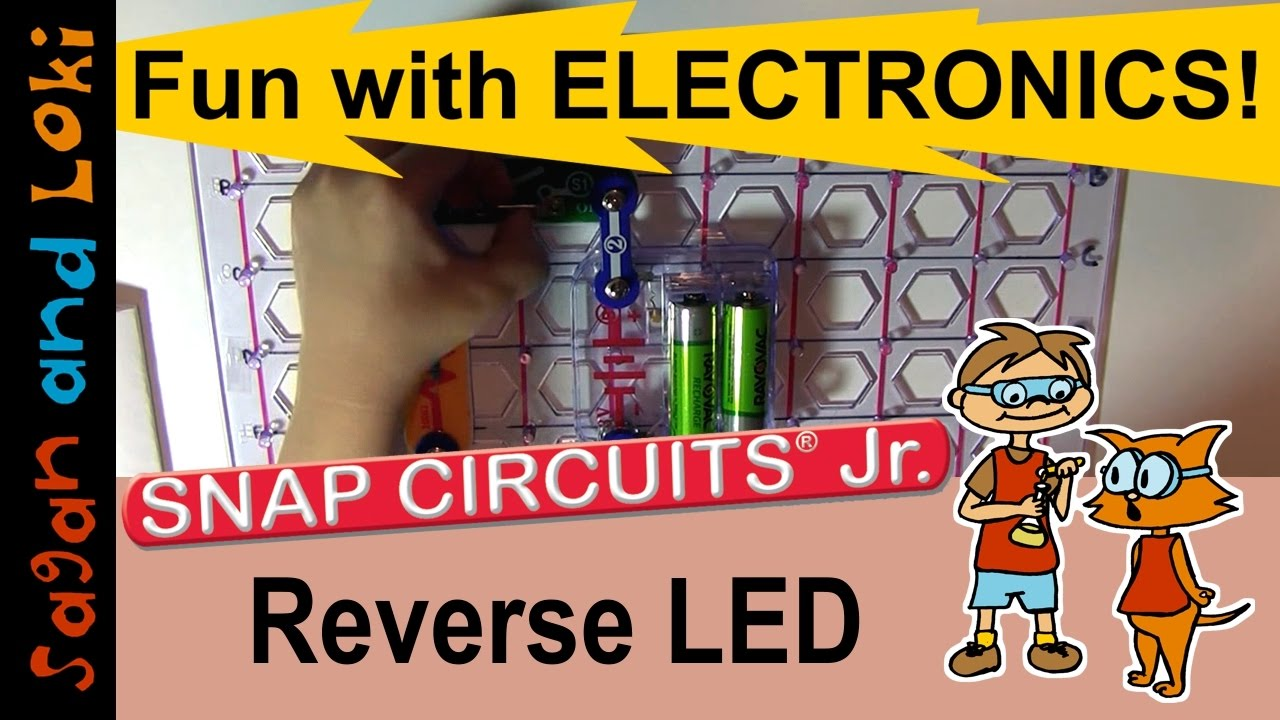 Snap Circuits Project Ideas Everything About Wiring Diagram Elenco Scl 175 Light Kids Learn Electronic Projects One Direction For Led Ufe0f Ud83d Udca1snap Jr Ep 8 Science Fair