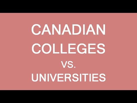 College or University for an international student in Canada? LP Group