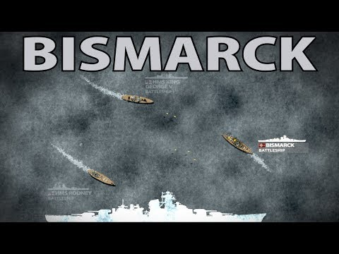 Operation Rheinübung: Hunt for the Bismarck 1941