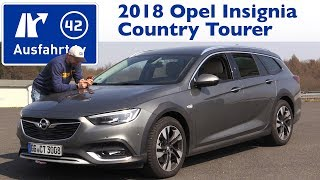 2018 Opel Insignia Country Tourer 2.0 BiTurbo Diesel 210 PS AT8 - Kaufberatung, Test, Review