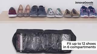 InnovaGoods Gadget Travel Shoe Bag 12 Shoes