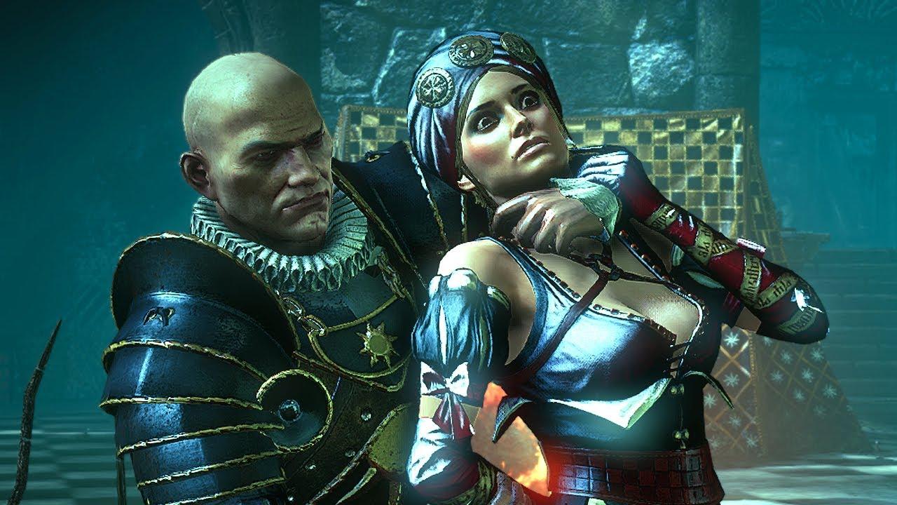 Triss  Geralt  Witcher 3