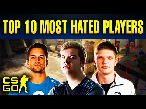 Thumbnail: Top 10 Most Hated Players in CS:GO History