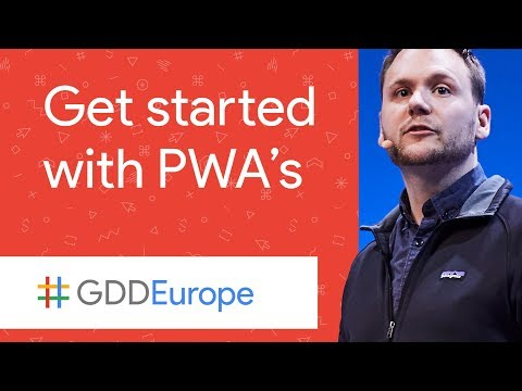 Frameworks and Tools for Progressive Web Apps (GDD Europe '17)