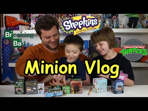 Opening Blinds Minion Vlog(Game of Thrones, minecraft, shopkins) - Day 684 | ActOutGames