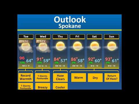 Weekly Weather Briefing, Aug 28, 2017 - NWS Spokane WA