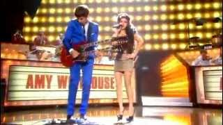 Amy Winehouse Ft. Mark Ronson - Valerie Live BRIT Awards (2008) Best Performance