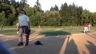 Joel Jenisch pitching June 2013