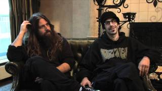Lamb Of God interview - Randy Blythe and Mark Morton (part 1)
