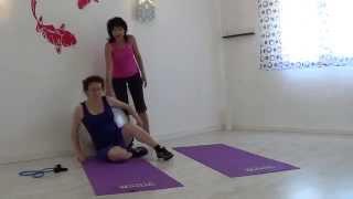 Упражнения для беременных,урок  4 Exercises for pregnant women4