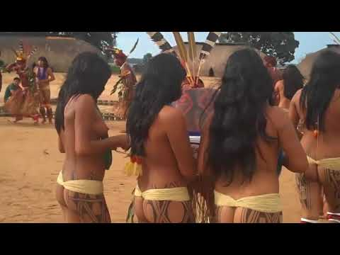 Brazil indigenous dance | Tears Of The Girls In Amazon Rain Forest - 아마존의 눈물 EP.05 thumbnail