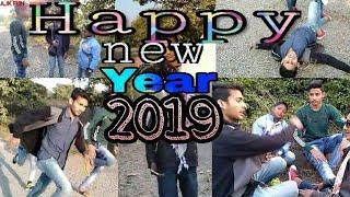 Happy new year 2019 funny Happy new year 2019 comedy Ajk Fun Anas khan