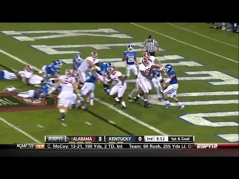 2013 #1 Alabama vs. Kentucky (HD)