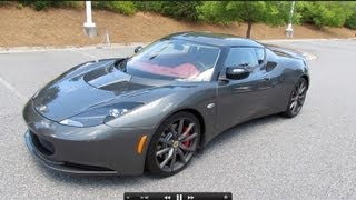2012 Lotus Evora S Start Up, Exhaust, Test Drive, and In Depth Review