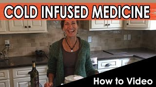 [Survival Medicine] Cold Herb Infusion with Alone Star: Dr. Nicole Apelian