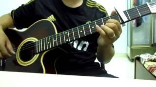 Vệt nắng cuối trời - guitar cover