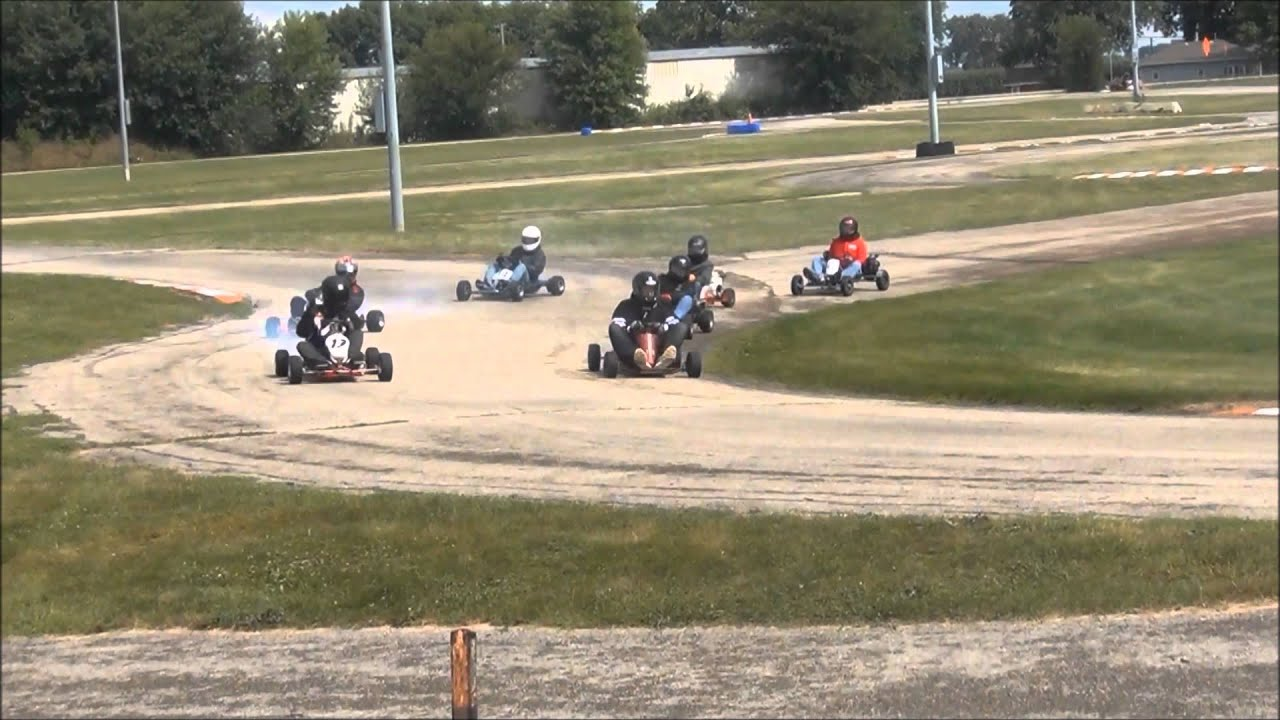 Vintage kart racing best of the midwest 2014 youtube