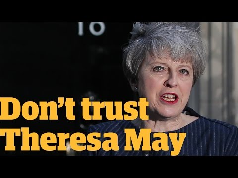 You can't trust Theresa May in the general election | Owen Jones talks...