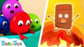 彩虹糖救援隊 | 最新學顏色動畫 | 好習慣童謠 | 美食兒歌 | 不挑食卡通 | 寶寶巴士 | 奇奇 | BabyBus