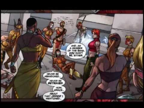 AT4W: Amazons Attack #3 and 4 (3 of 3)