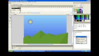 Как создать анимацию во флеш (движение солнца)(Хочешь знать о новинках канала? Подписывайся - http://bit.ly/TheStepanov123456 Сайт : ВИДЕОХОЛКА (www.videoholka.ucoz.ru). Видео урок..., 2011-04-15T15:24:46.000Z)